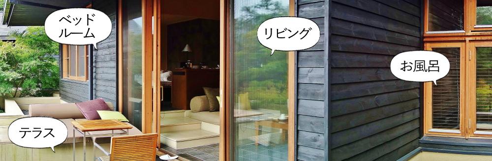 星のや軽井沢 水波の部屋 写真