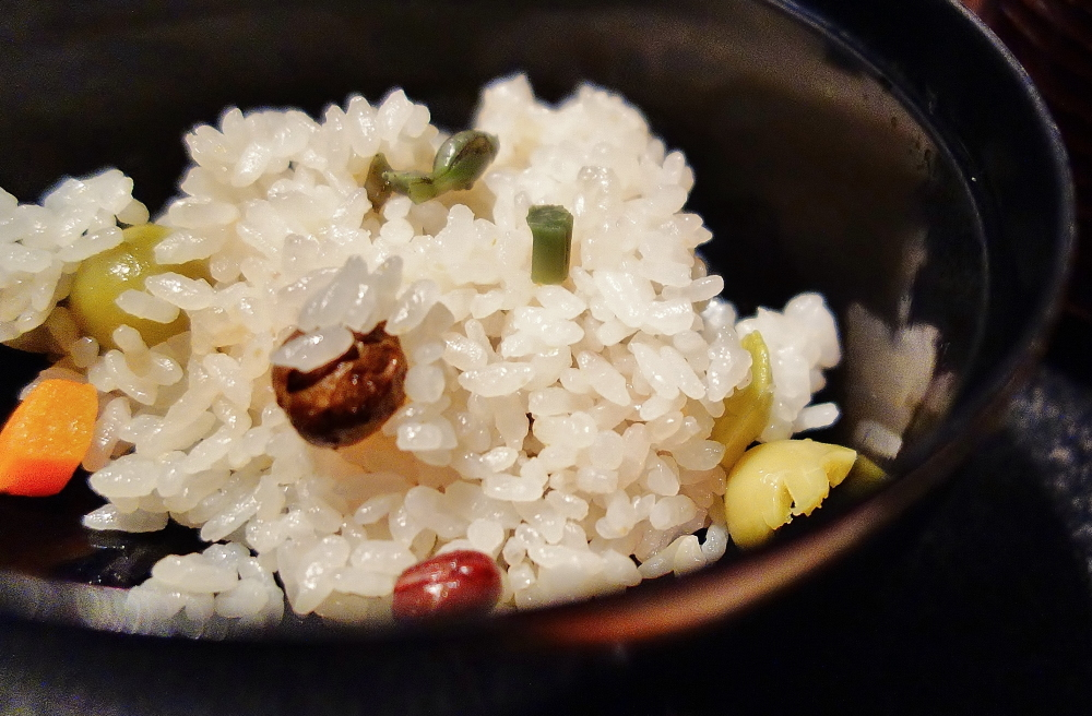 木島平産コシヒカリ 秋の実ご飯