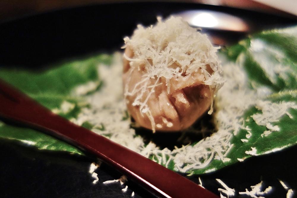 星野や軽井沢 レストラン 嘉助特製和菓子