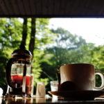 【星のや軽井沢周辺】ハルニレテラス「丸山珈琲」でゆったりモーニング