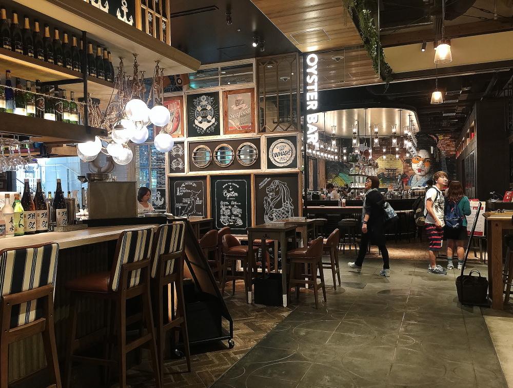ニュウマン レストラン