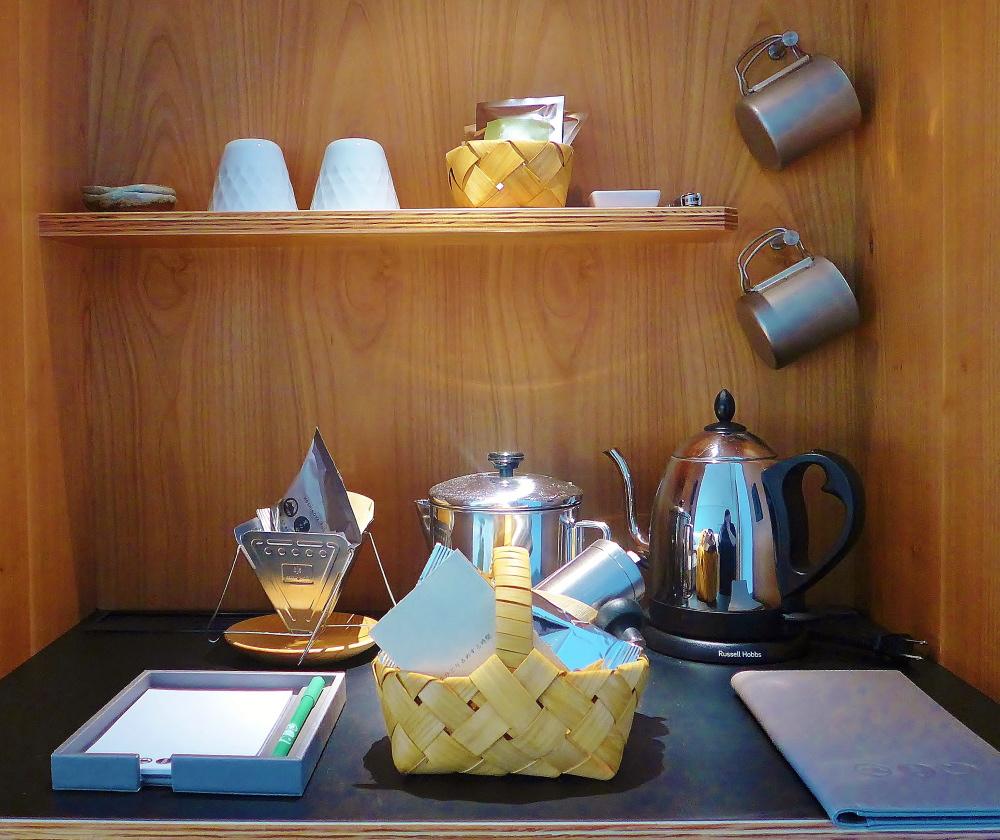 星のや富士 コーヒー キャンプ用品