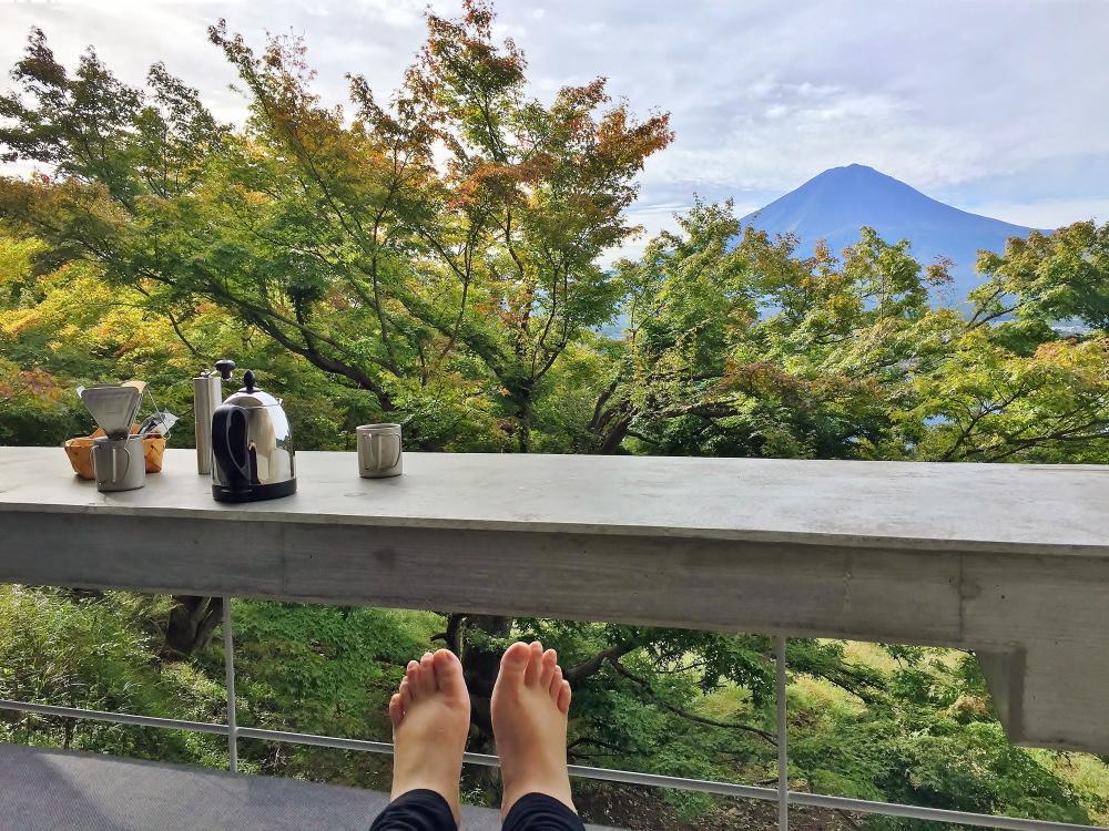 星のや富士 コーヒー