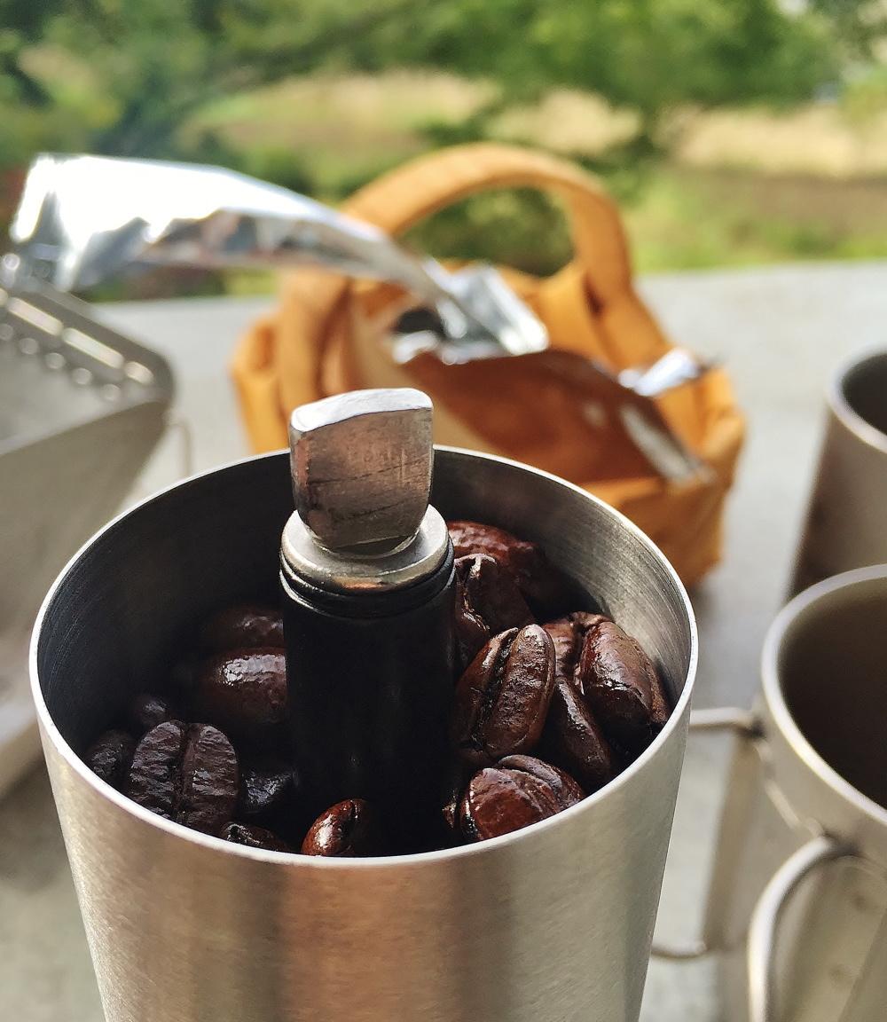 アウトドア用 コーヒーミル