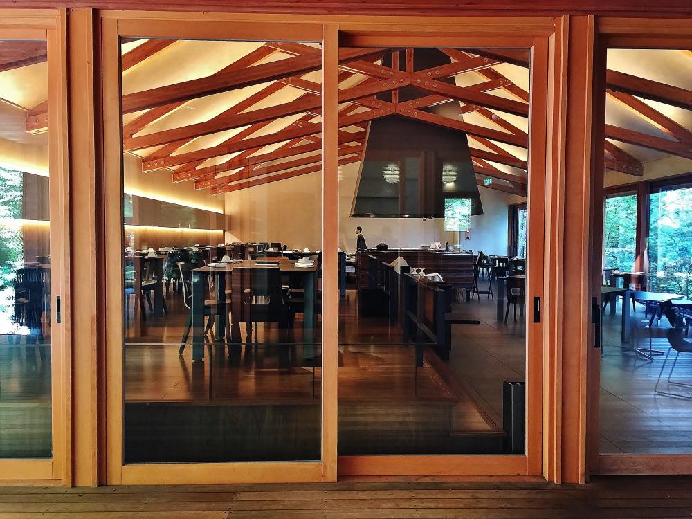 星のや富士 レストラン ディナー