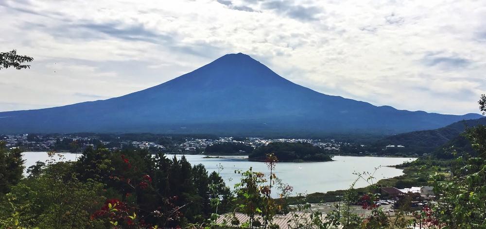 星のや富士 富士山の眺め 写真