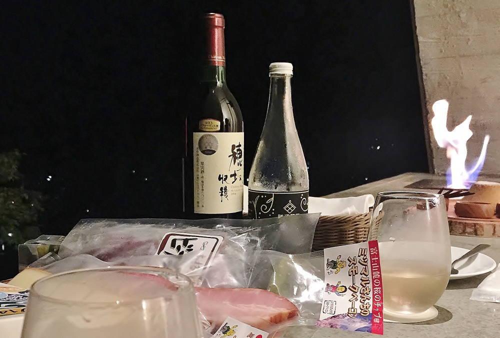 カベルネ・ベリーA 穂坂収穫 勝沼ヴァンムスー