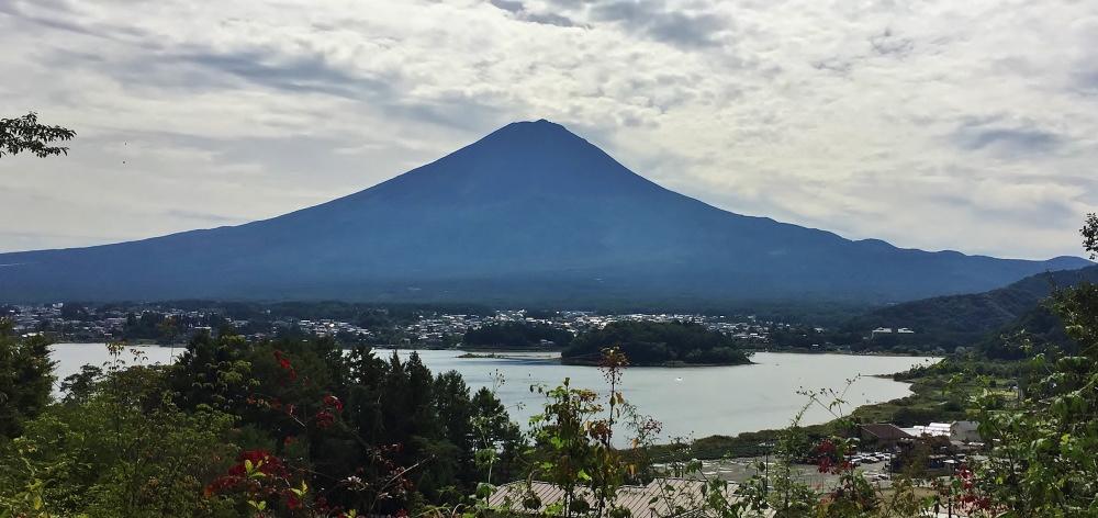 星のや富士からの眺め 富士山 河口湖