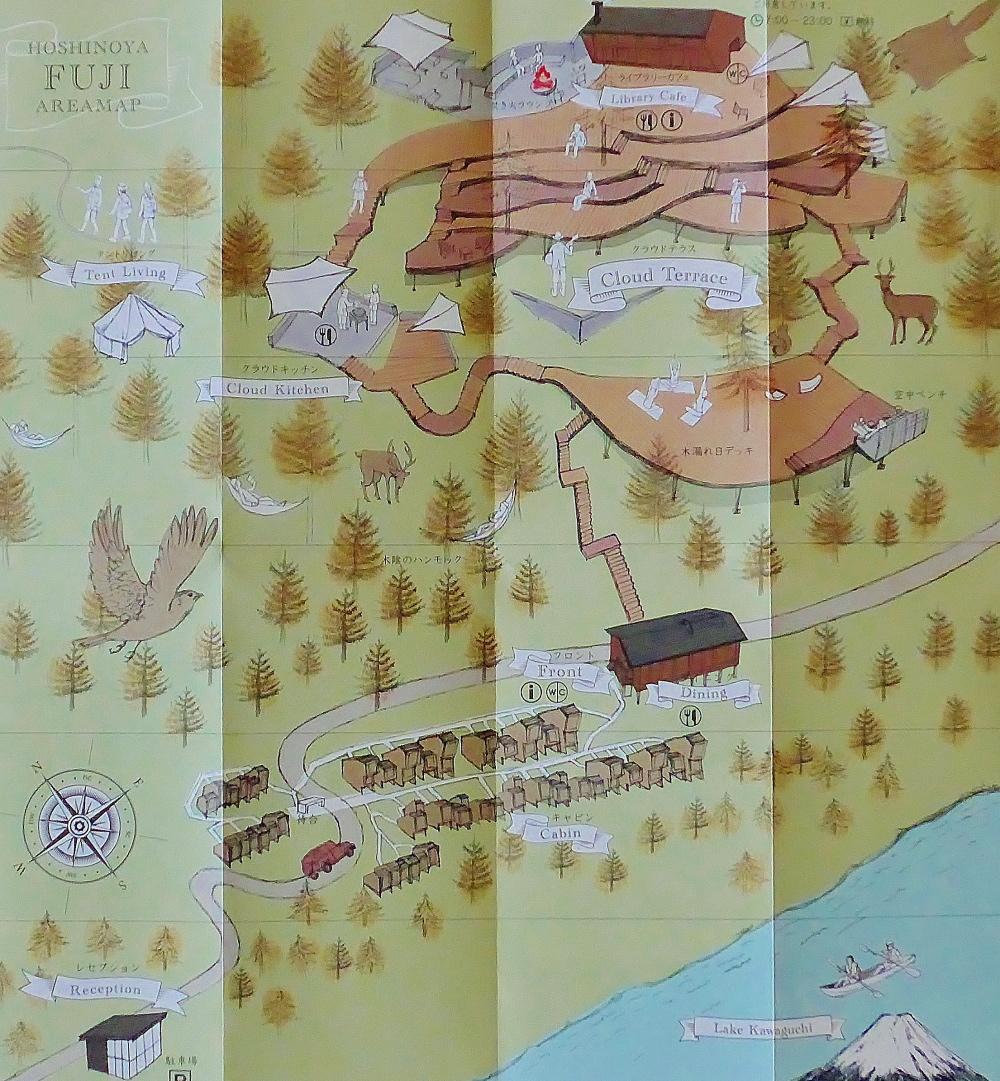 星のや富士 MAP