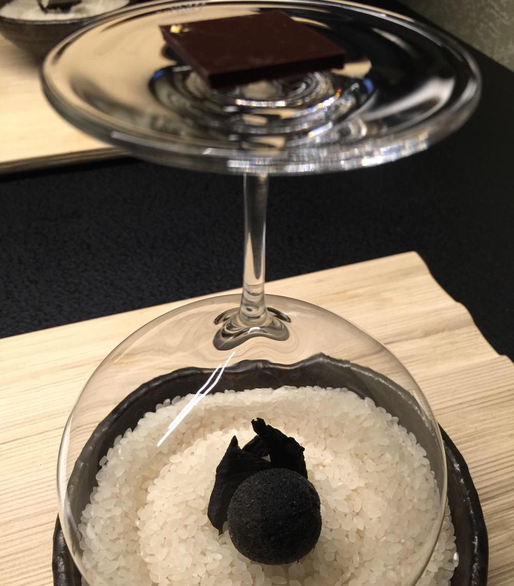 香茸 ベシャメルソースのライスコロッケ