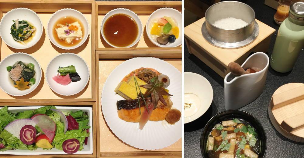 星のや東京 朝ごはん 和食