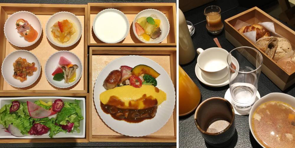 星のや東京 朝ごはん 洋食