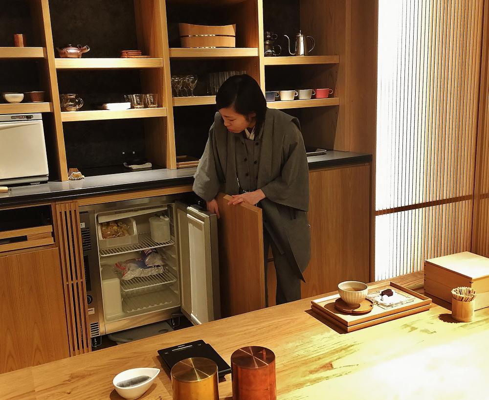 星のや東京 お茶の間ラウンジ