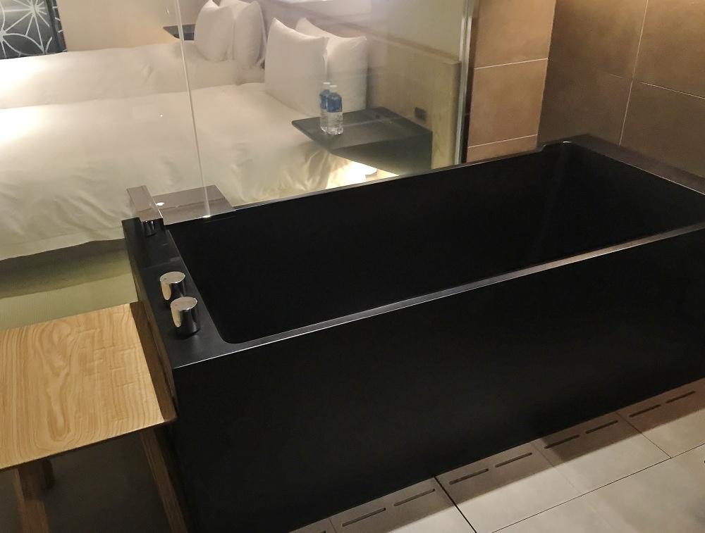 星のや東京 客室 お風呂