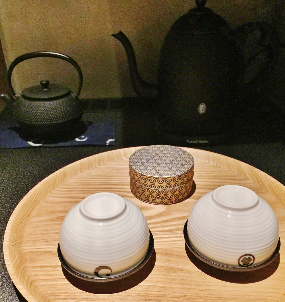 星のや東京 客室 お茶