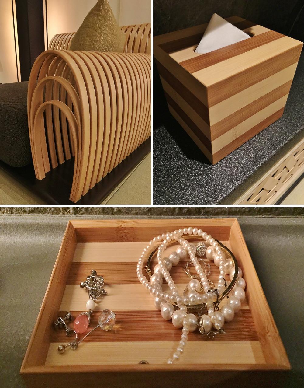 星のや東京 ヒノキ工芸