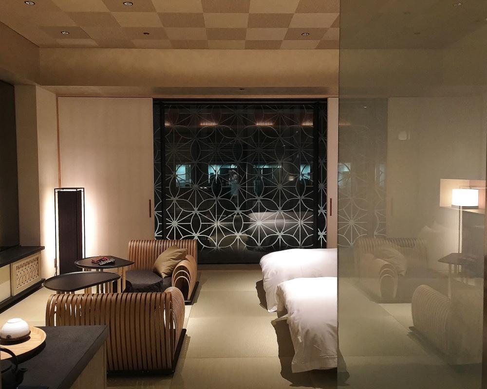 星のや東京 部屋 写真 ブログ
