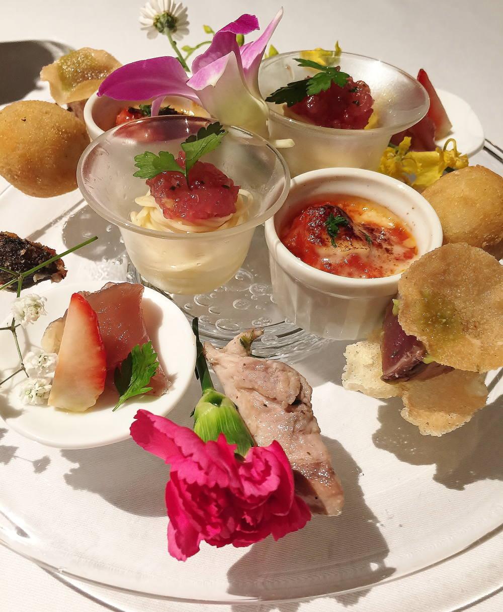 鰹のアンティパスト・ミスト 皿鉢料理スタイル