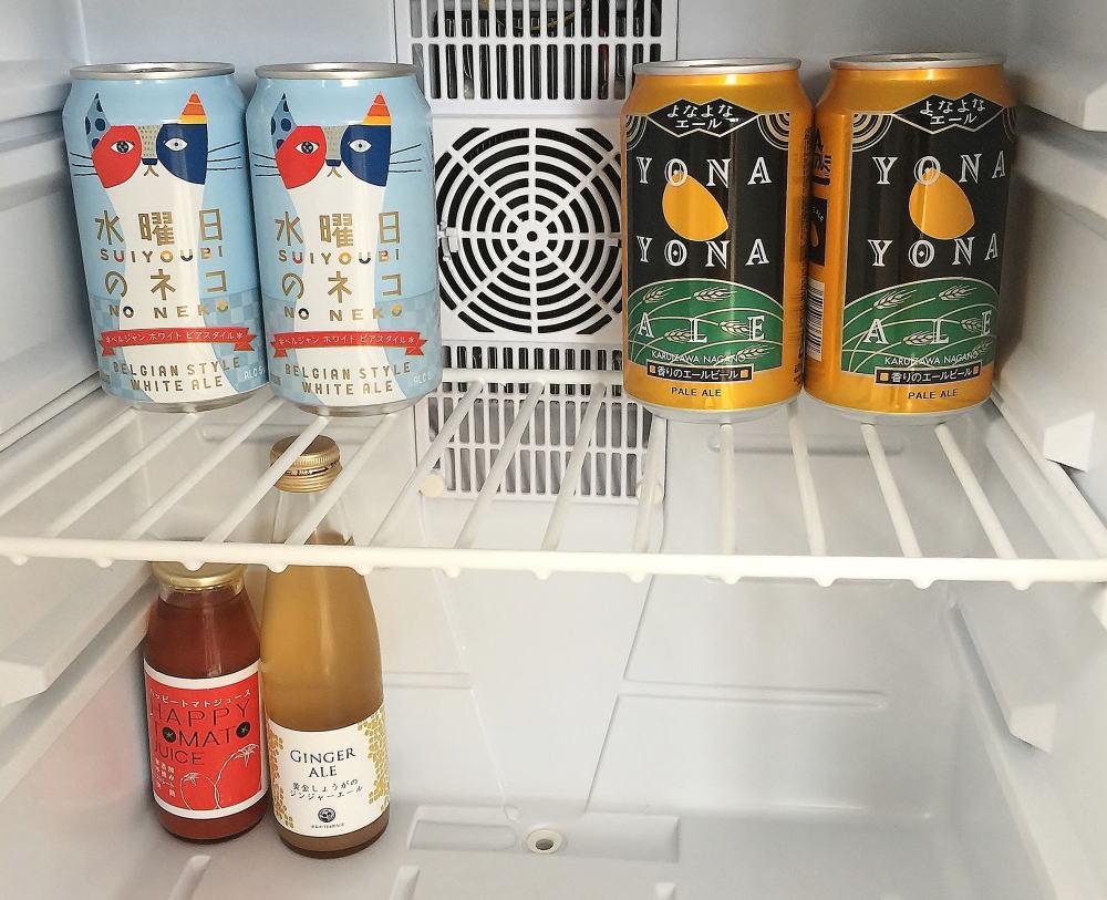 ウトコ 冷蔵庫 中身