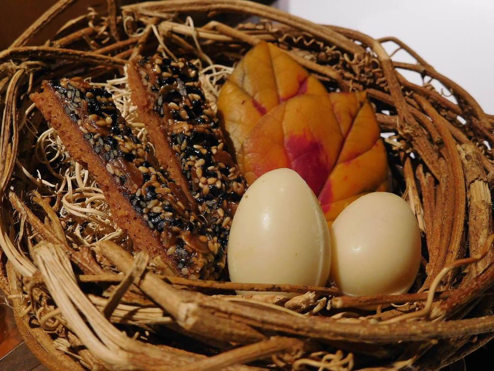 ユカワタン チョコレート 卵 葉っぱ 鳥の巣