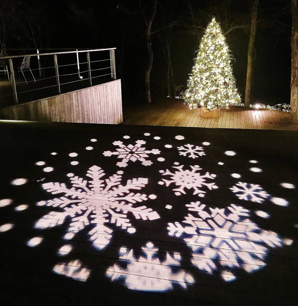 ハルニレテラス クリスマス イルミネーション