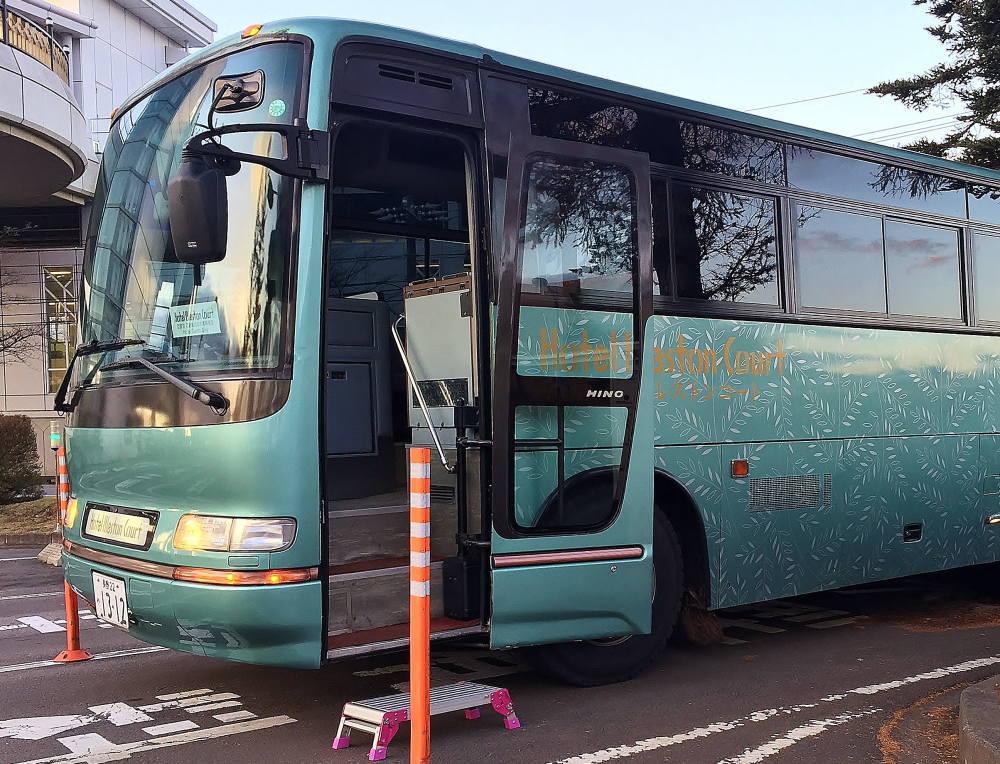 ブレストンコート 無料送迎バス