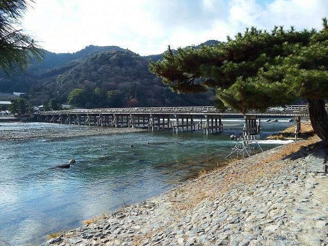 星のや京都 上り桟橋
