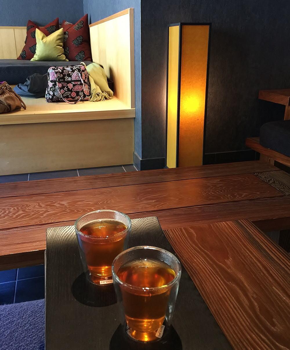 星のや京都 無料 紅茶