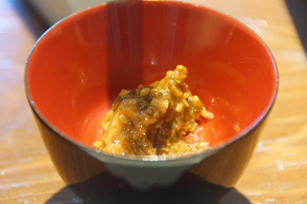 星のや京都 料理長特製薬味