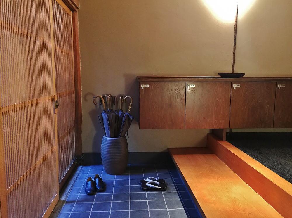 星のや京都 客室 玄関