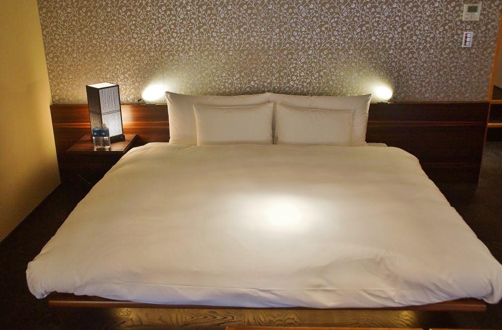星のや京都 ベッド