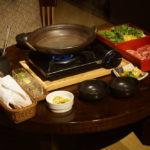 【星のや竹富島】ルームサービスの夕食「島鍋」が最高でした!贅沢極まれり。