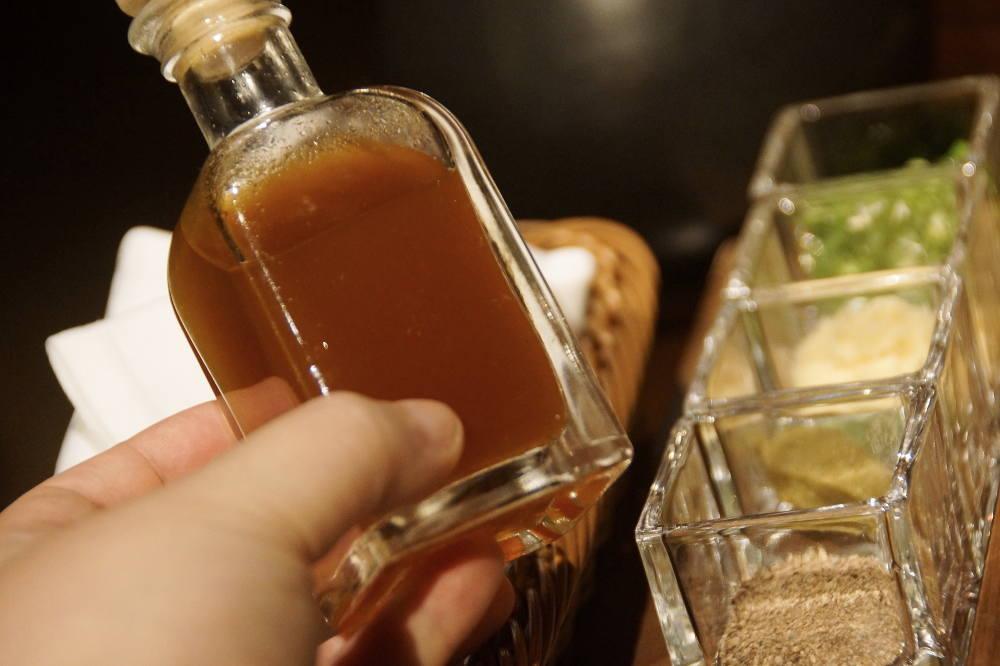 シークワーサーぽん酢