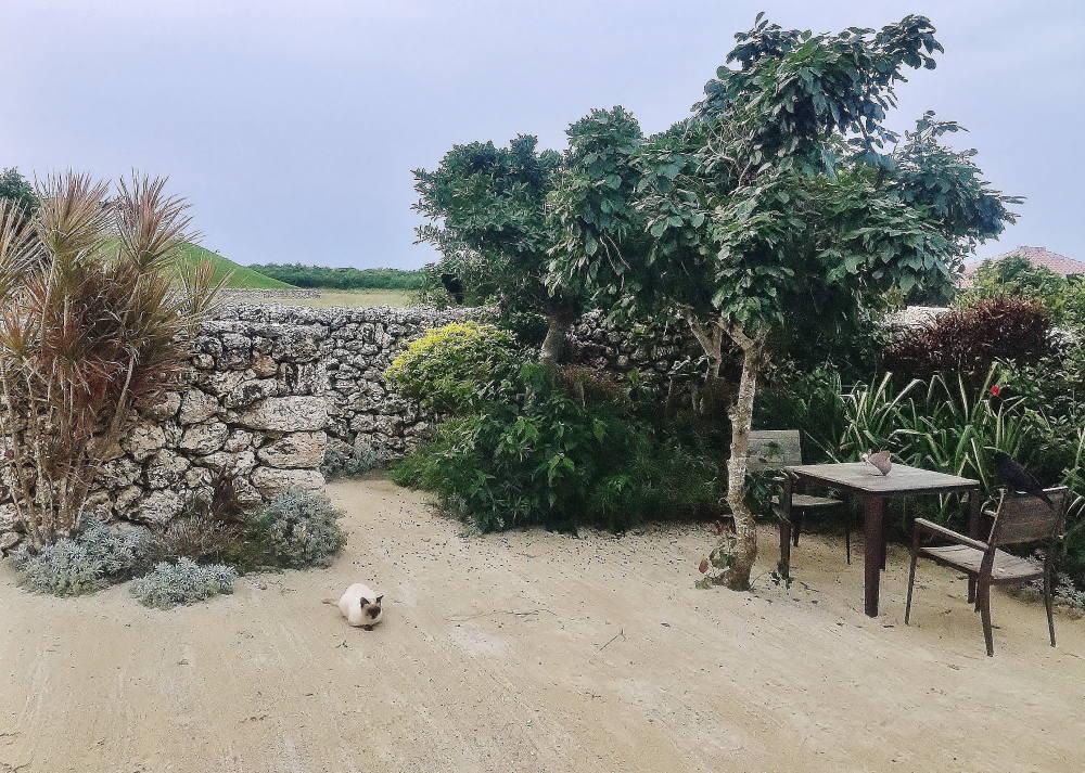 星のや竹富島 庭