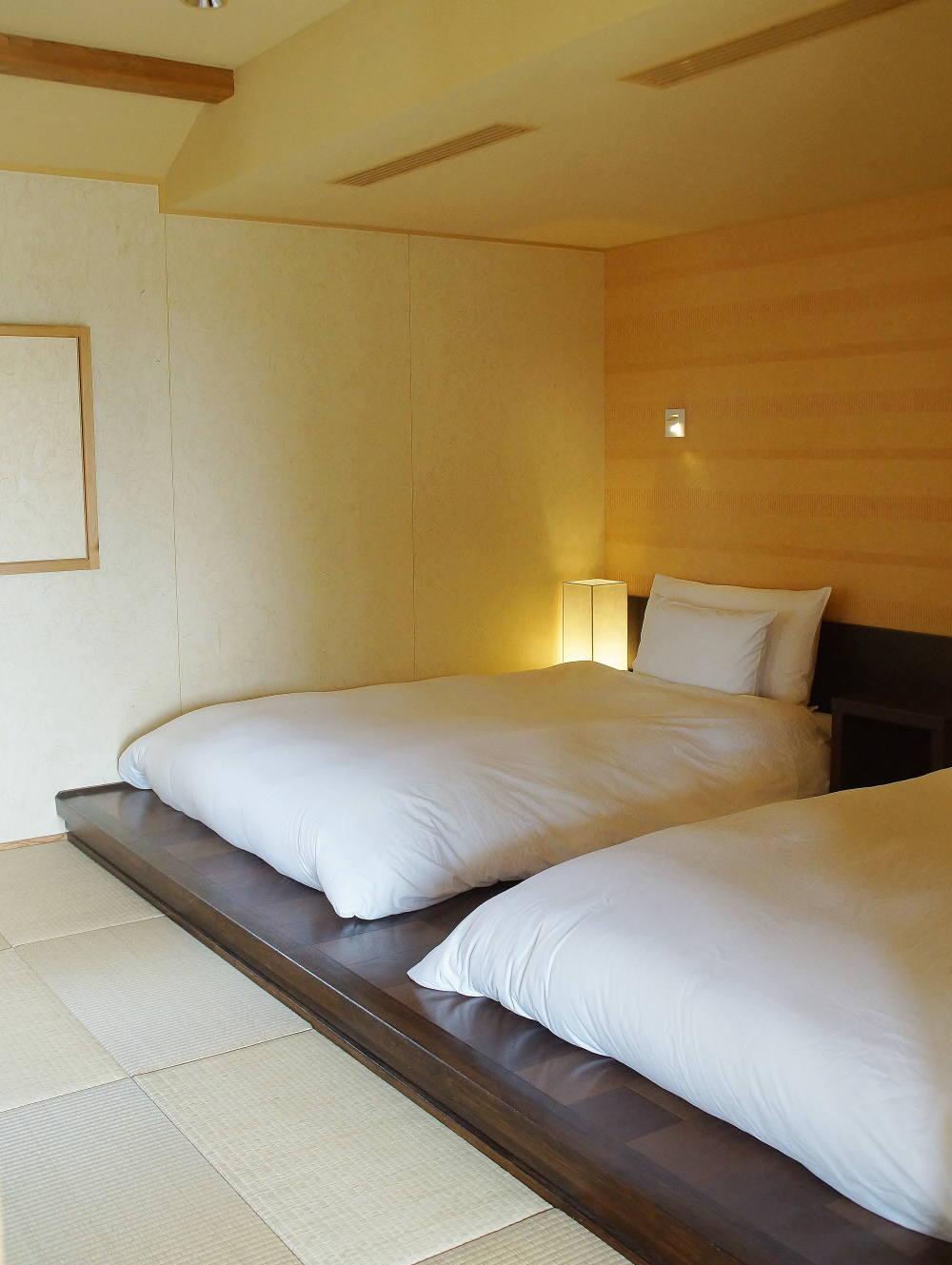 星のや竹富島 部屋 寝室