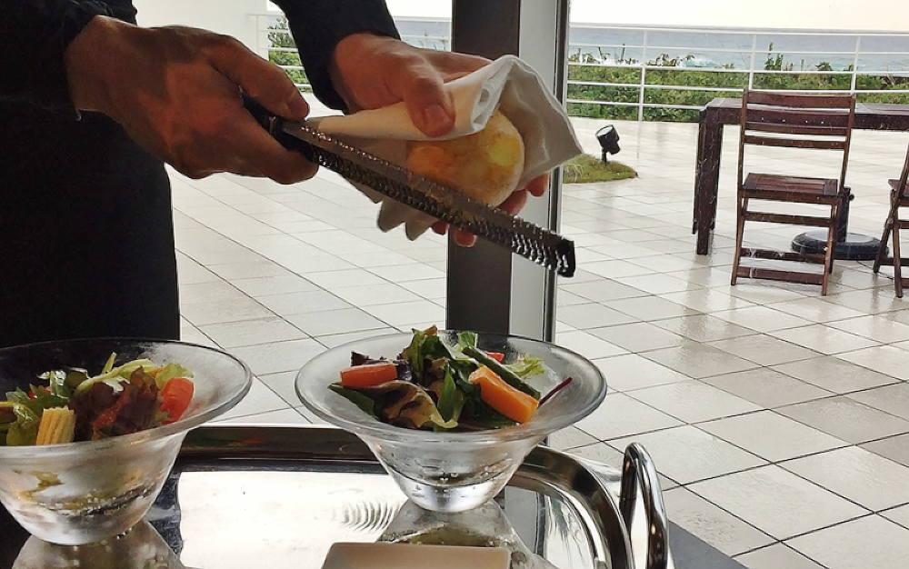 柚子皮サラダ