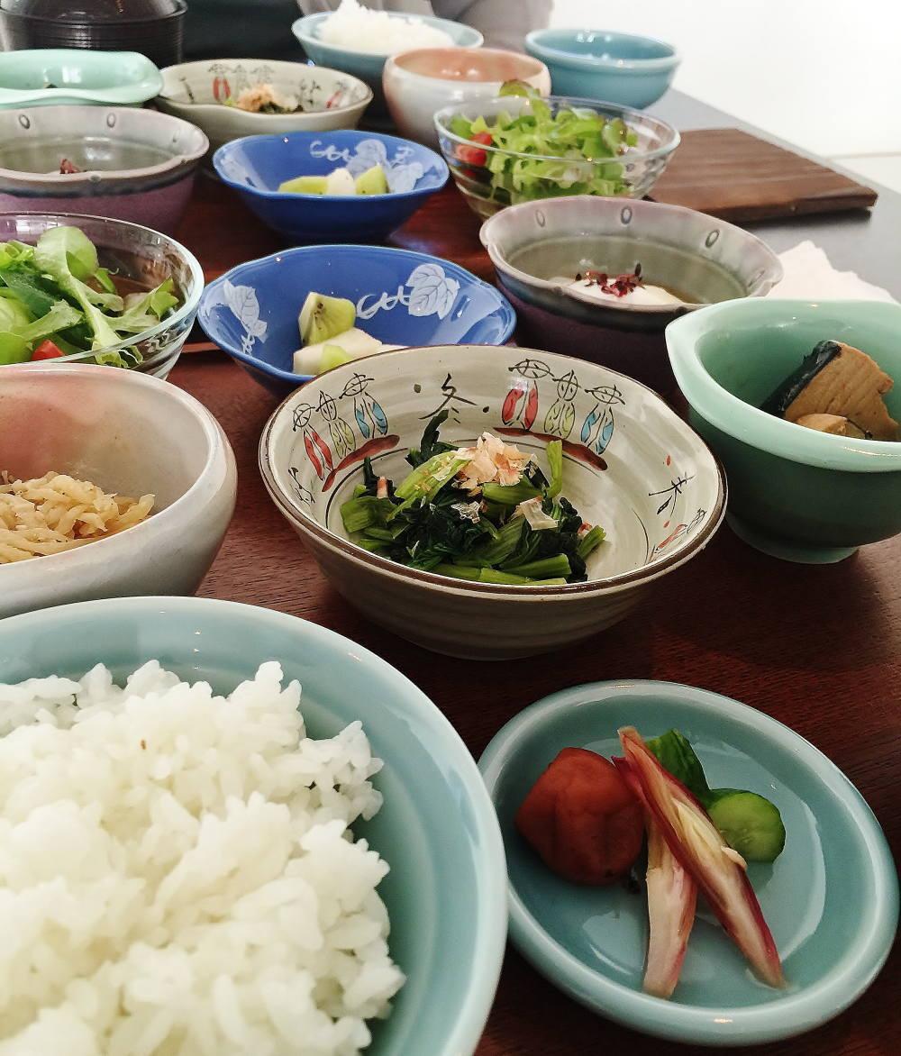 ウトコオーベルジュスパ 和朝食