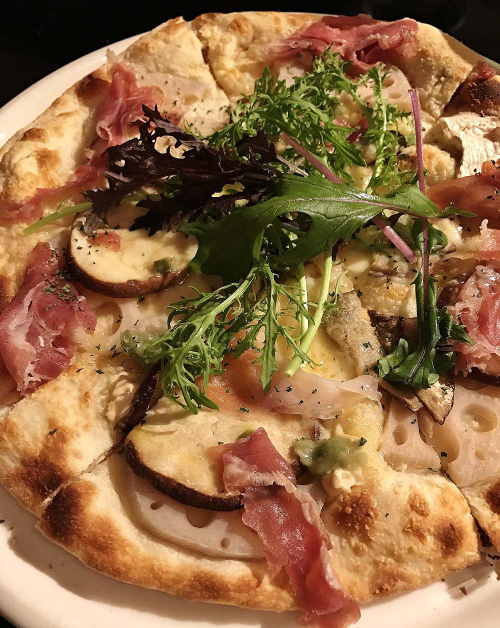 軽井沢イタリアン イルソーニョ ピザ