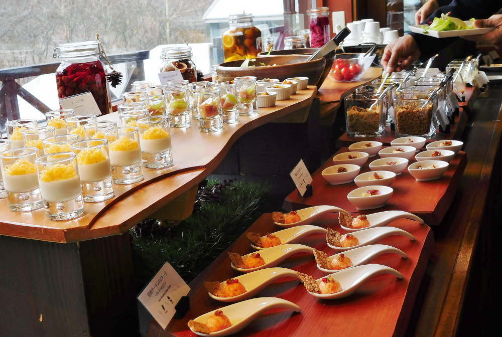ホテル ブレストンコート ノーワンズレシピの朝食のメニュー写真