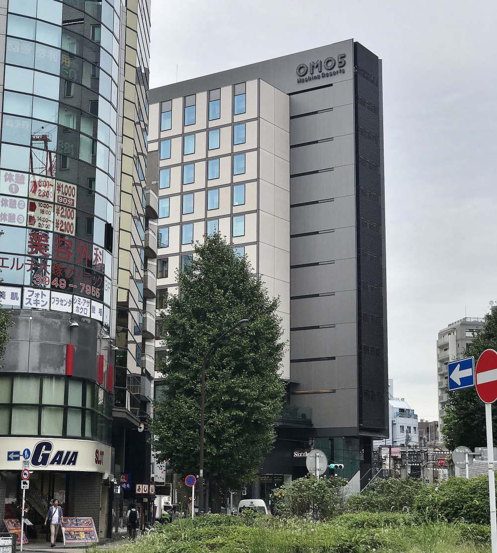 OMO5東京大塚 建物の様子