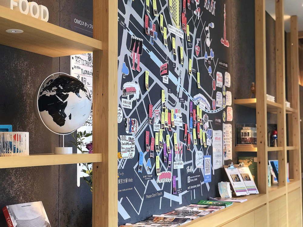 OMO5東京大塚 ご近所マップ