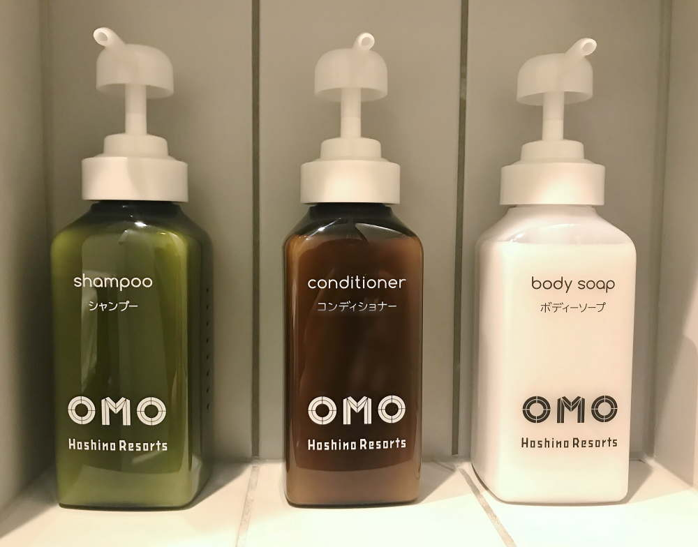 OMO5 客室アメニティ シャンプー コンディショナー ボディシャンプー