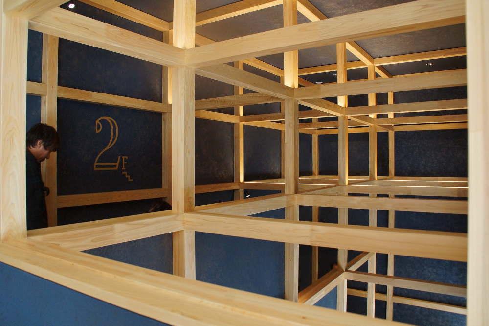 BEB5 旅籠をイメージした建物内