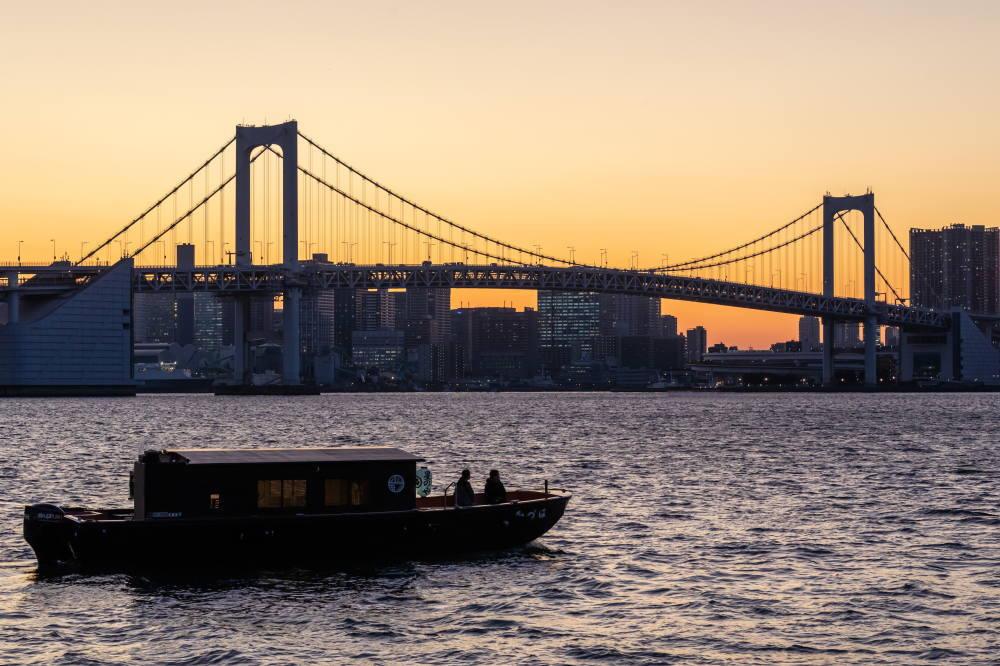 東京の夜景 クルーズ