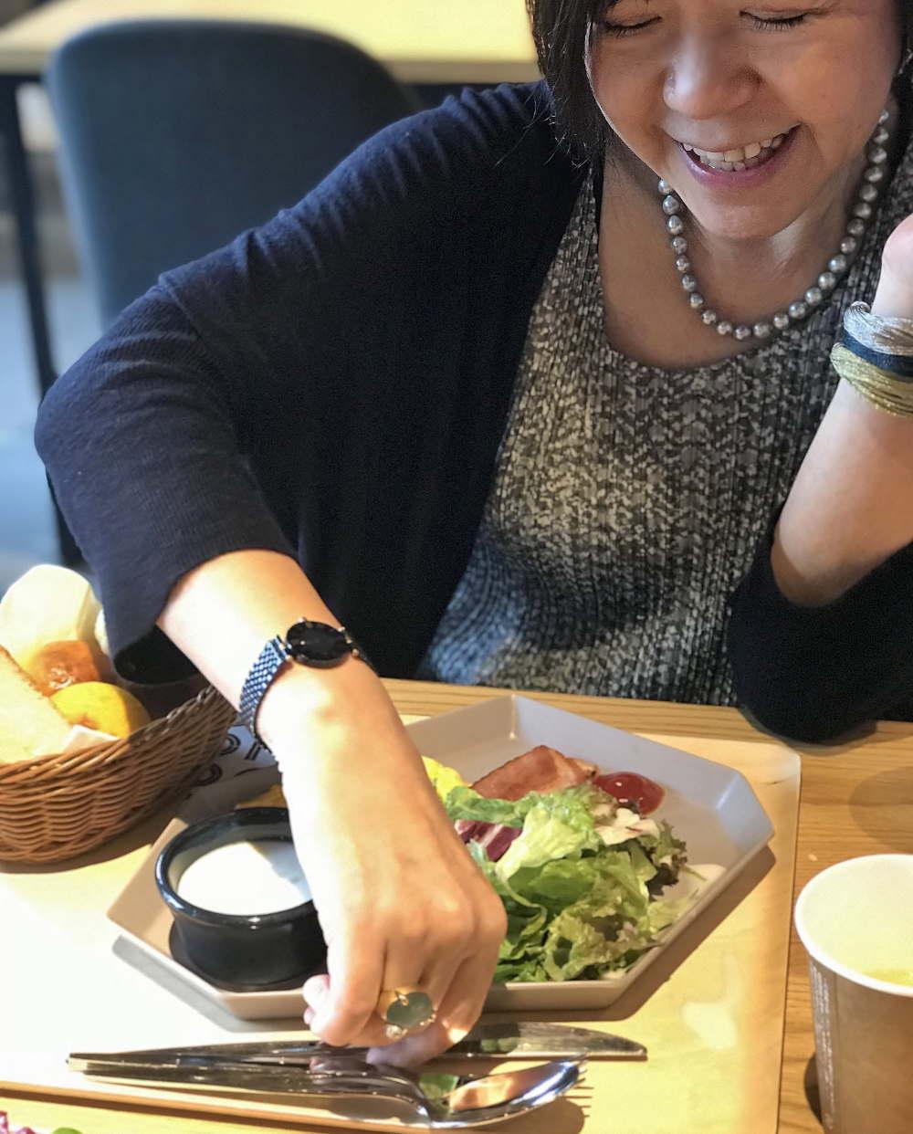 OMO5 朝食 パンセット